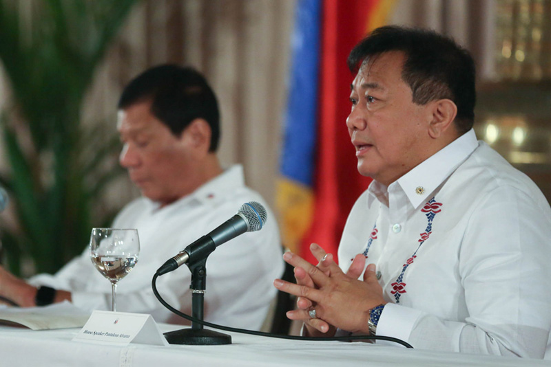 Speaker Pantaleon Alvarez made the statement days after the lower house adopted a resolution to convene as a constituent assembly that will draft a new Constitution. PPD/Toto Lozano, File photo