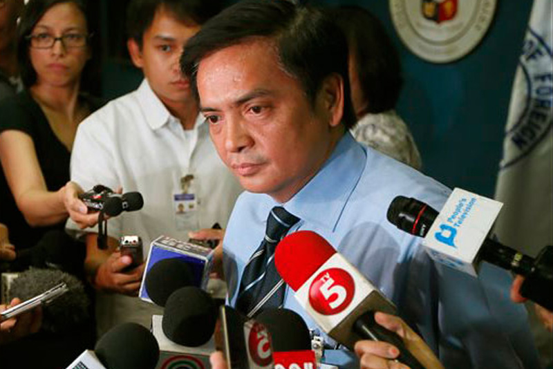 Foreign affairs spokesman Charles Jose also said yesterday there were no reports of any Filipino directly affected by the incident. AP/Bullit Marquez, file