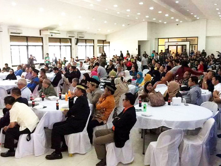 Maranaw elders and religious leaders attended the launching early this week of the peace and security-oriented Task Force Lanao. Philstar.com/John Unson