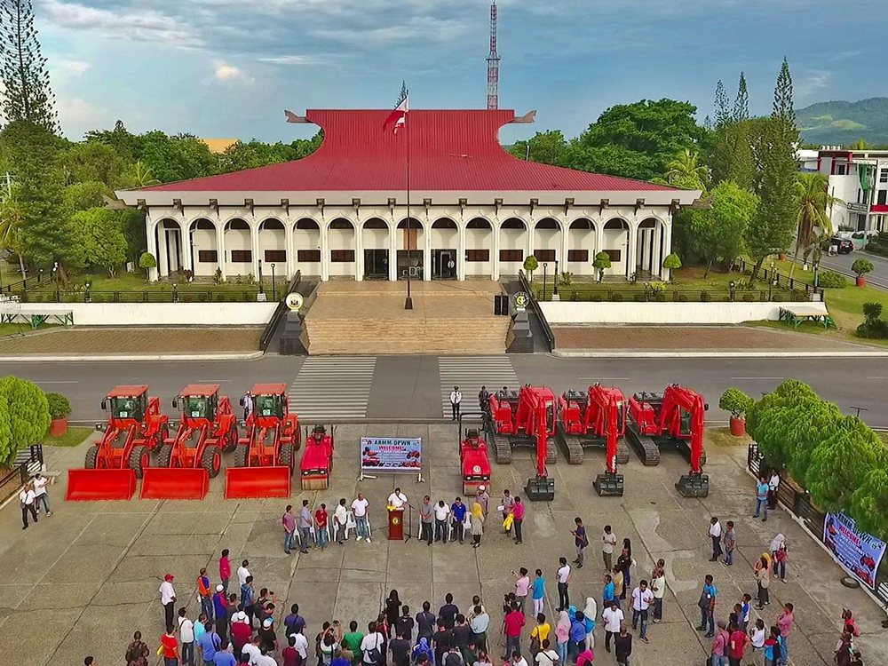The new equipment intended for ARMM provinces were released by officialsThursday during a simple program in the regional capitol in Cotabato City. Philstar.com/John Unson