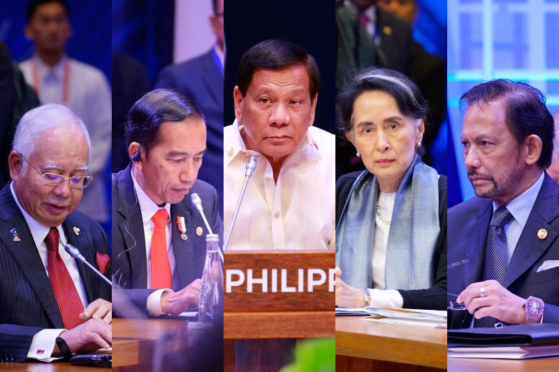 Asean Leaders at Philippines Summit