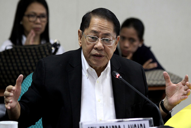 Special envoy to the European Union and former Senate president Edgardo Angara appealed yesterday to his former colleagues in the Senate to speed up their concurrence to the framework Partnership and Cooperation Agreement between the country and the EU. File