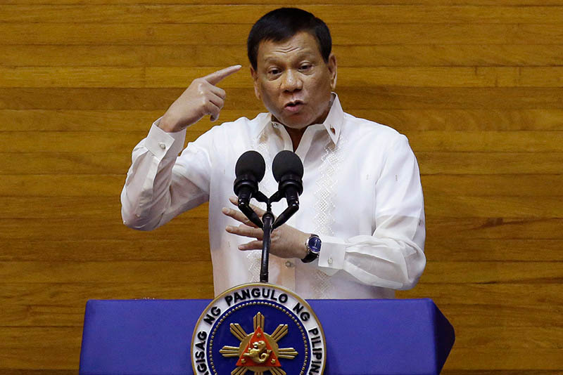 "Duterte said he could not understand why Canada is turning the Philippines into a ""dump site."""