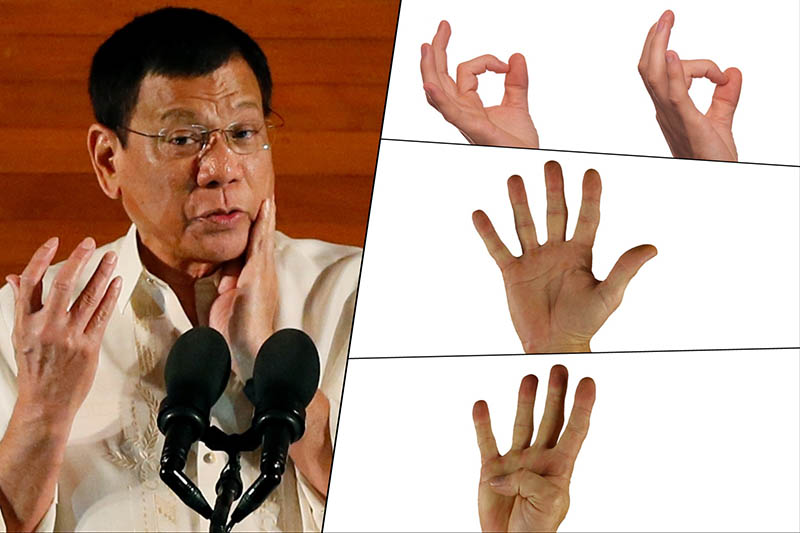 """""""If the president curses, I must convey that through sign language."""""""