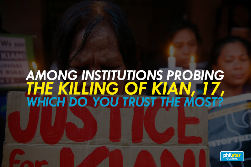 Senate hearing on the death of Kian delos Santos