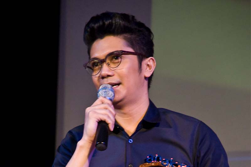Comedian and television host Vhong Navarro is seen in this December 2012 photo receiving an Anak TV honor. ABS-CBN PR
