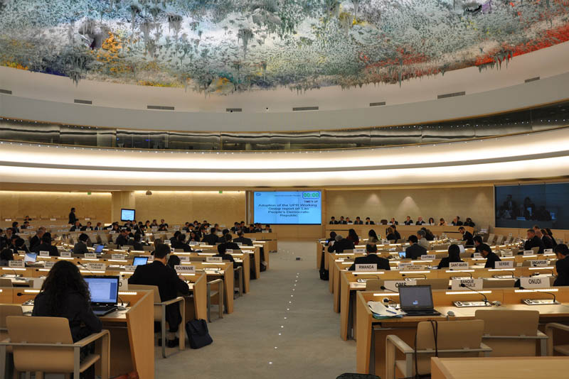 The Universal Periodic Review process assessing the human rights situation of the Philippines and other countries concluded in September in Geneva before the United Nations Human Rights Council. UN photo