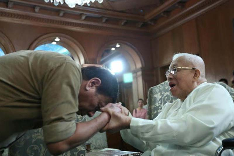 Palace condoles with Catholic faithful on passing of Cardinal Vidal