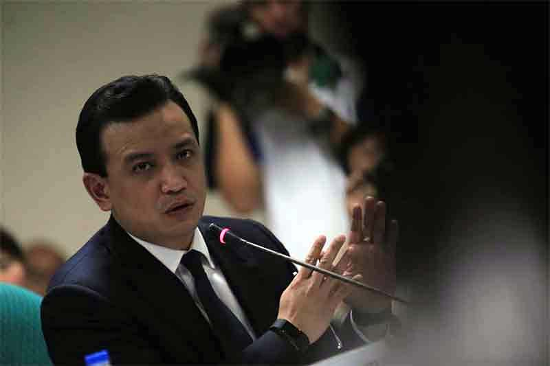 Sen. Antonio Trillanes IV has met with US Sen. Marco Rubio and talked about US-Philippines alliance, combating corruption and protecting human rights.Senate PRIB/Joseph Vidal
