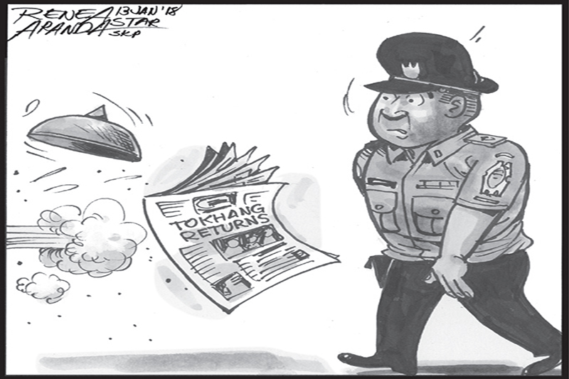EDITORIAL - 'Tokhang' relaunched, again