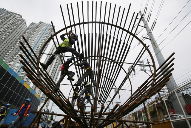 Data from The Global Competitiveness Report 2016-2017 of World Economic Forum show that one of the most problematic factors in affecting business and investments is the inadequate supply of infrastructure. AP/Aaron Favila, File photo