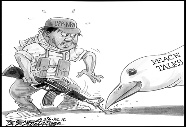 EDITORIAL - Peace of the living