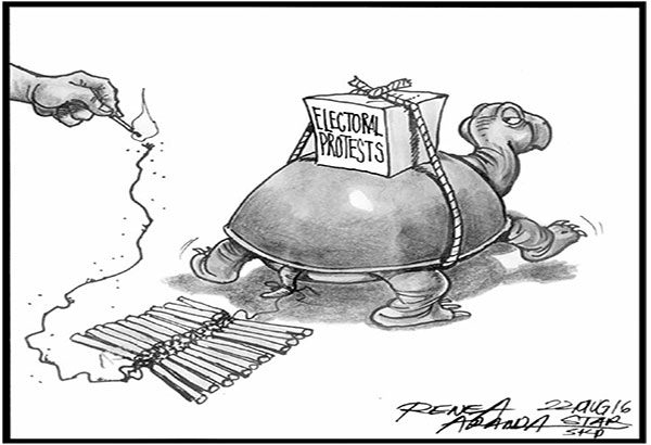 EDITORIAL - Electoral protests