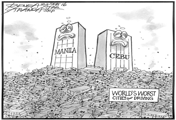 EDITORIAL - Worst places for driving
