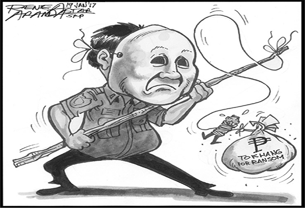 EDITORIAL - Tokhang for ransom