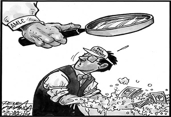 EDITORIAL - More teeth vs dirty money