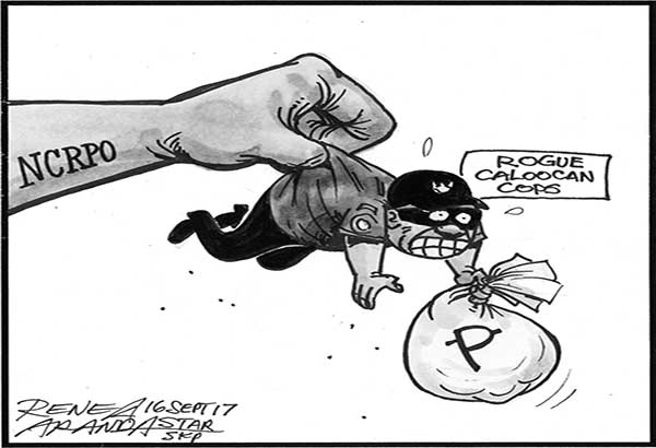 EDITORIAL - Cops, robbers