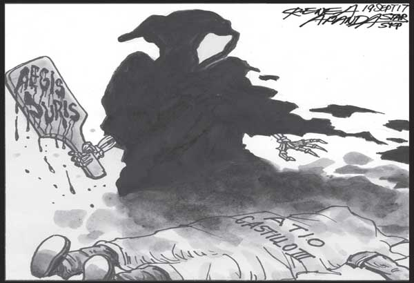 EDITORIAL - Shield of injustice