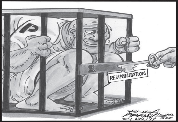 EDITORIAL - Rehabilitating criminals