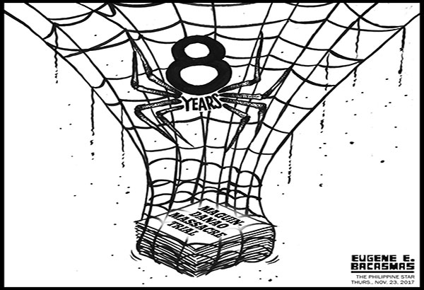 EDITORIAL - Eight years and counting