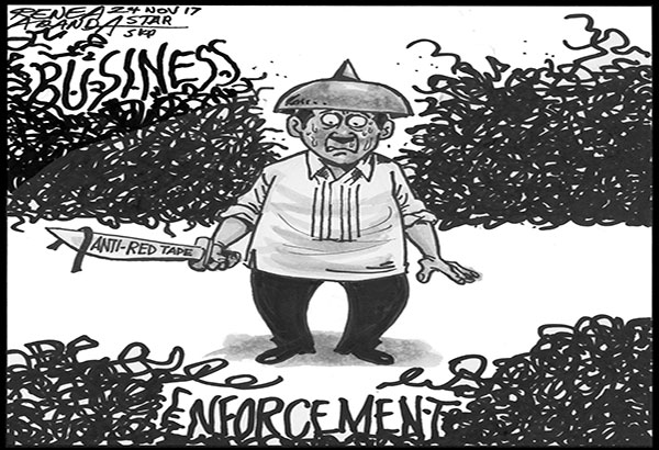 EDITORIAL - A law to cut red tape