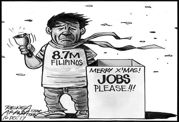 EDITORIAL - 8.7 million jobless