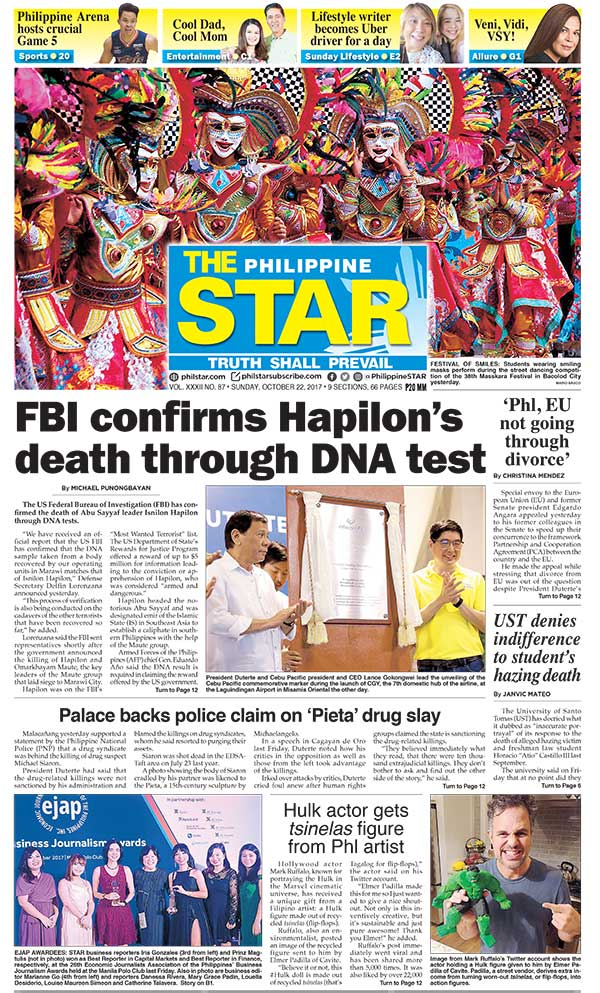The Star Cover (October 22, 2017)