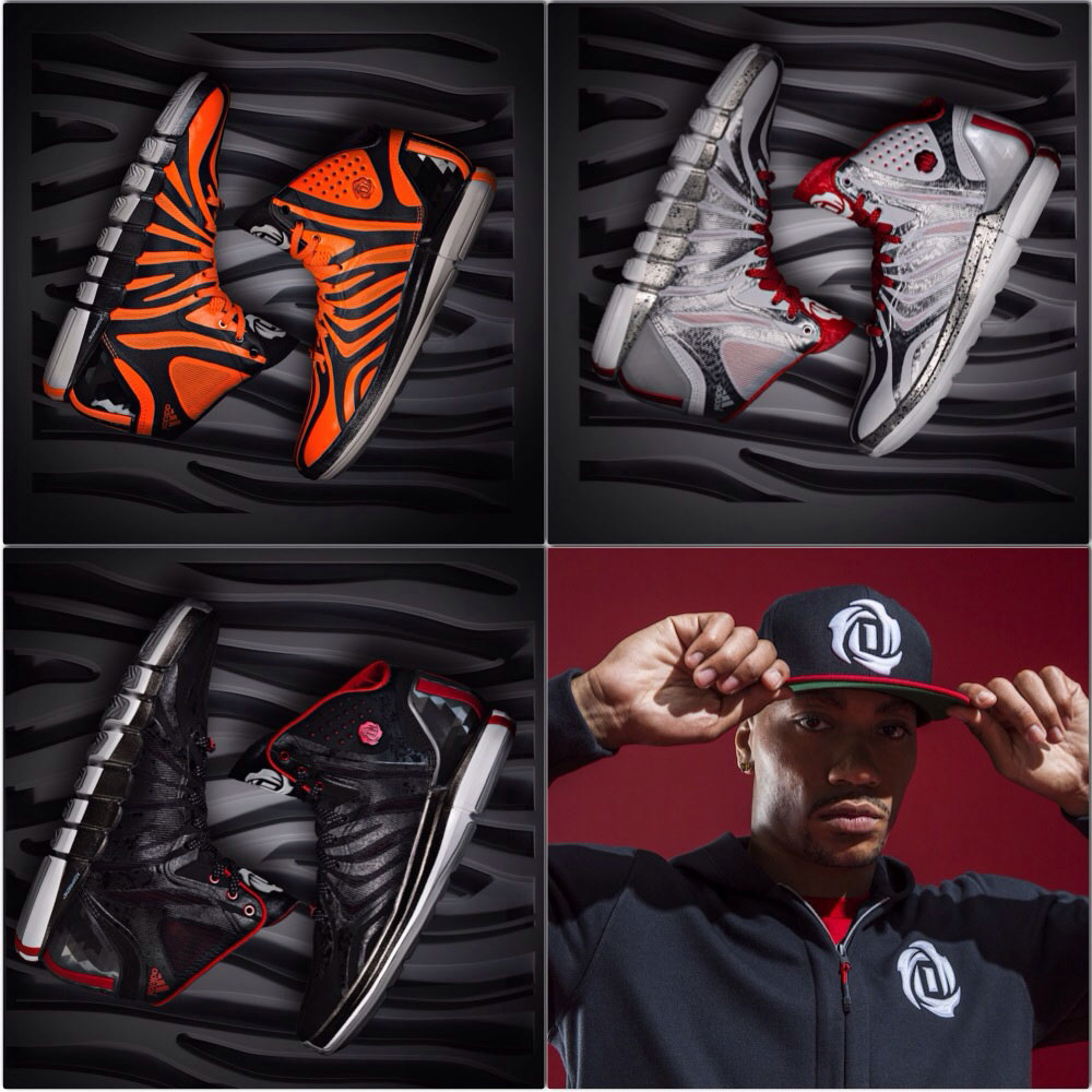 Adidas unveils latest Derrick Rose's signature shoe ...