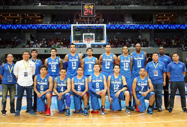 Gilas Pilipinas improves to 30th in February 2018 FIBA World Ranking