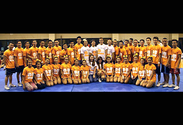 The NU Pep Squad bids two retain its crowns in the UAAP cheerdance championship.