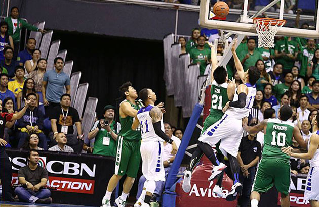A glimpse of the last Ateneo-La Salle clash--which transpired in the UAAP | File Photo
