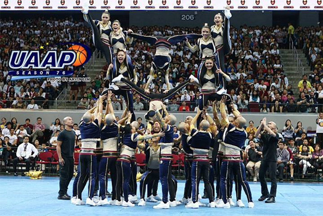 The National University Pep Squad was declared champions in 2013.UAAP photo