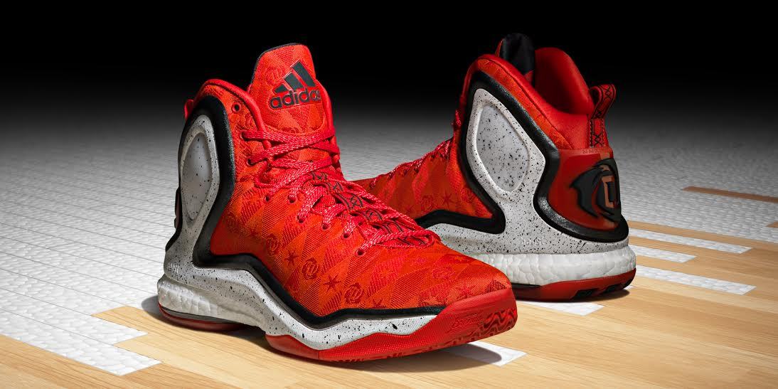 2adidas d rose 5 boost christmas