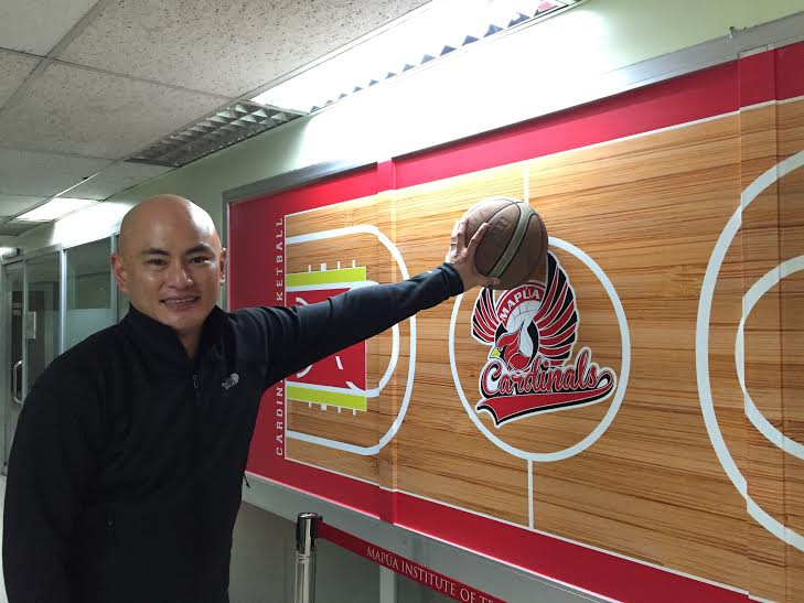 Mapua Cardinals director for basketball operations Marco Yuchengco Santos is pushing for innovative changes in the NCAA as the school is set to host this season. Alder Almo