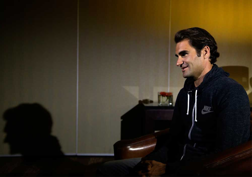 Roger Federer Mother Roger Federer of Switzerland