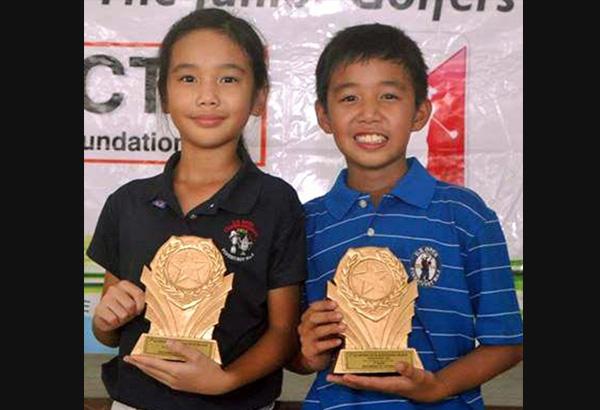 Andrew Chua, right, and elder sister Annika make impressive stints in