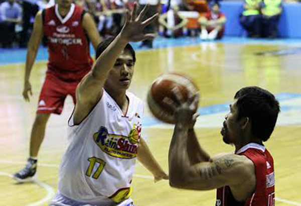Pacquiao scores first field goal in the PBA | Sports, News, The Philippine Star ...