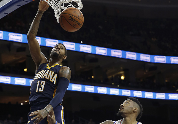 Indiana Pacers didn't take the winless 76ers lightly, and it showed