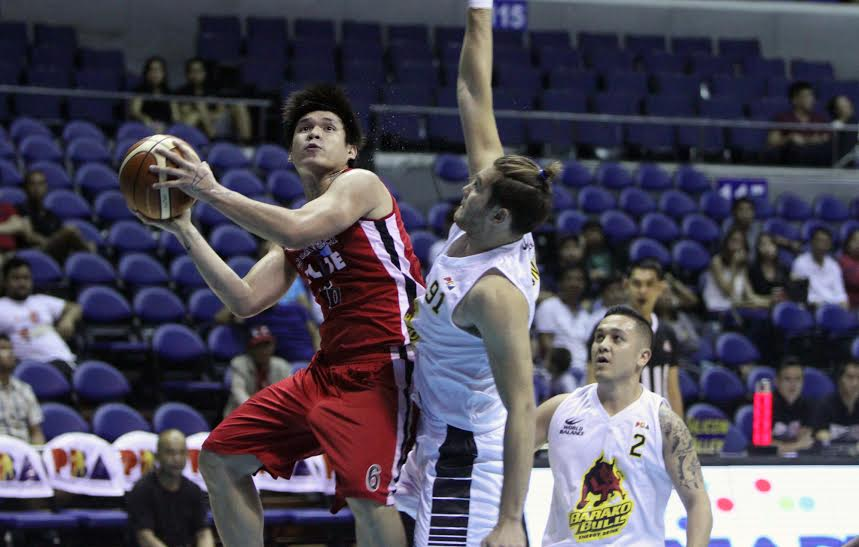 Carlo Lastimosa in action for Blackwater in this file photo. | PBA Images