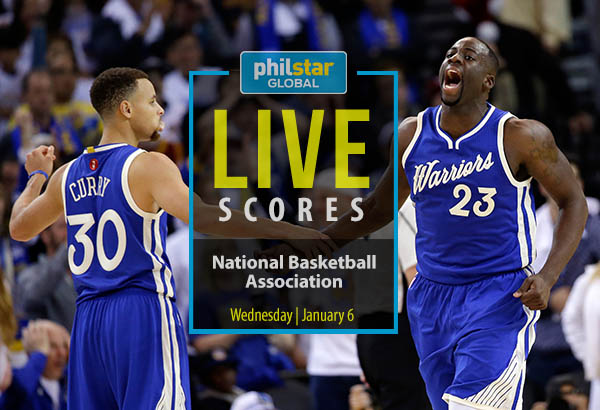 MANILA, Philippines - Today's NBA games is underscored by the Warriors