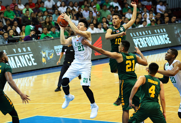 la salle s jeron teng gets uaap player of the week nod sports news the philippine