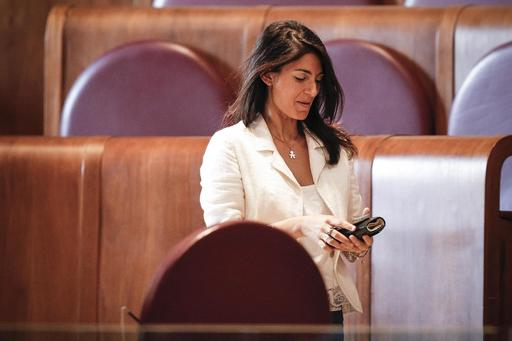 Rome's Mayor Virginia Raggi arrives for a session of Rome's city council, Thursday, Sept. 29, 2016. The Rome city council has backed Mayor Virginia Raggi's decision to reject the capital's bid for the 2024 Olympics. The vote leaves only Los Angeles, Paris and Budapest, Hungary, in the running for the 2024 Games. The International Olympic Committee will decide on the host city in September 2017. | Giuseppe Lami/ANSA via AP
