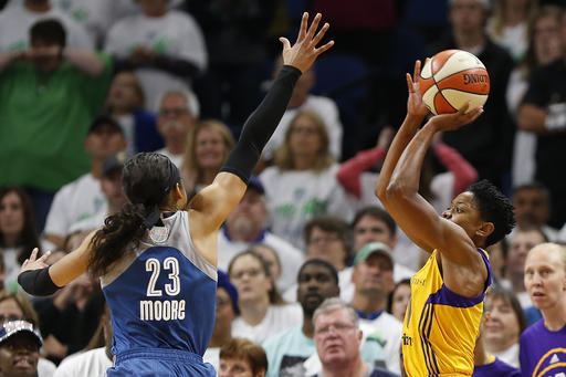 Lynx and Sparks set for 2017 WNBA Finals