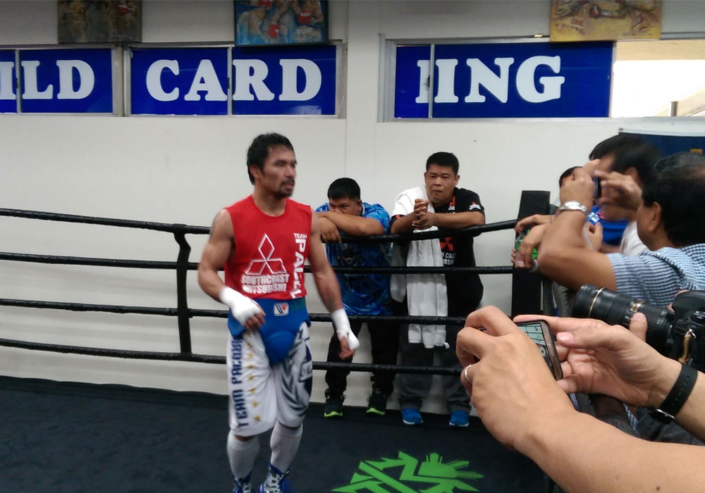 Pacquiao still prefers boxing ring at Wild Card | Sports ...