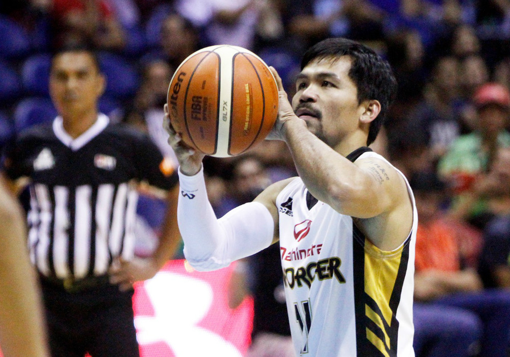 PBA team honchos expect an easy win from Mahindra playing-coach Pacquiao | Sports ...