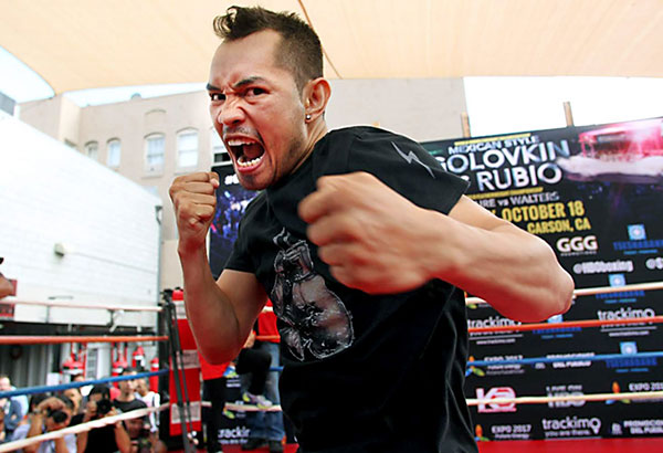 Nonito 'Filipino Flash' Donaire. Chris Farina