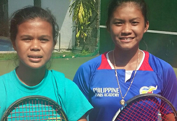 Khim Iglupas (left) and Shaira Rivera.