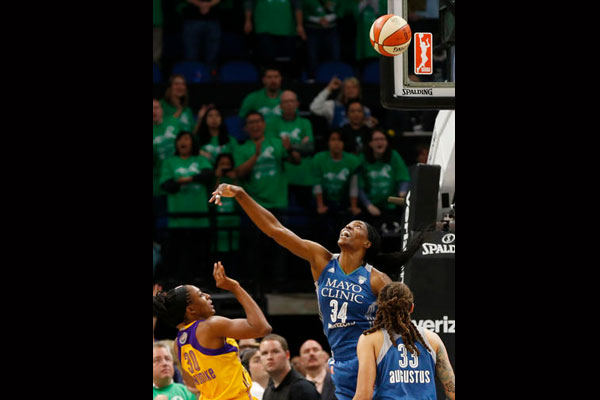 Social Recap: Sylvia Fowles Wins First Career MVP Award