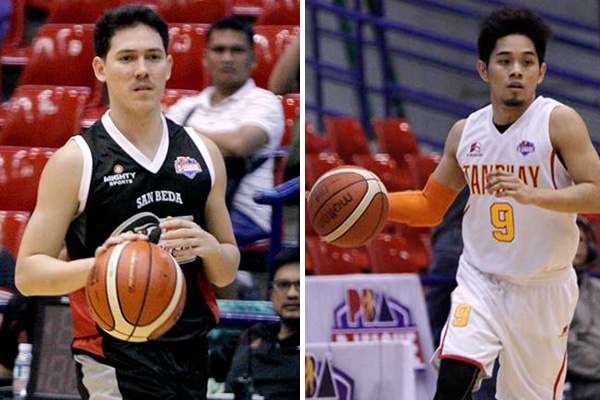 Robert Bolick will lead Cignal-San Beda versus a dangerous Tanduay squad led by Mark Cruz in the 2017 PBA D-League Aspirants' Cup Thursday at the Ynares Sports Arena in Pasig. | PBA Media Bureau