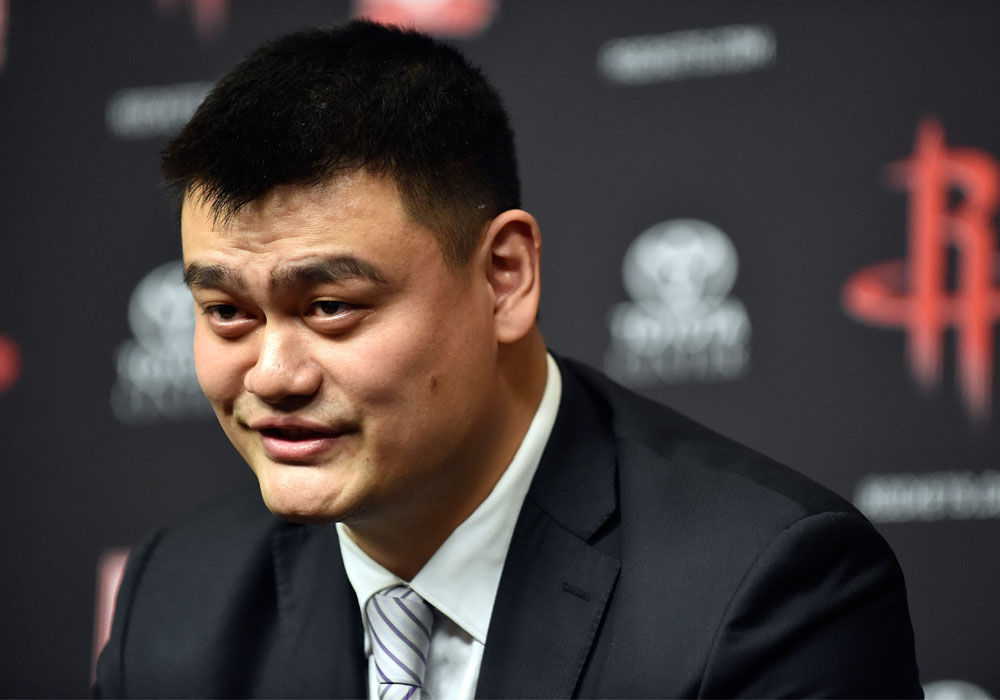Yao Ming elected Chinese Basketball Association president ...